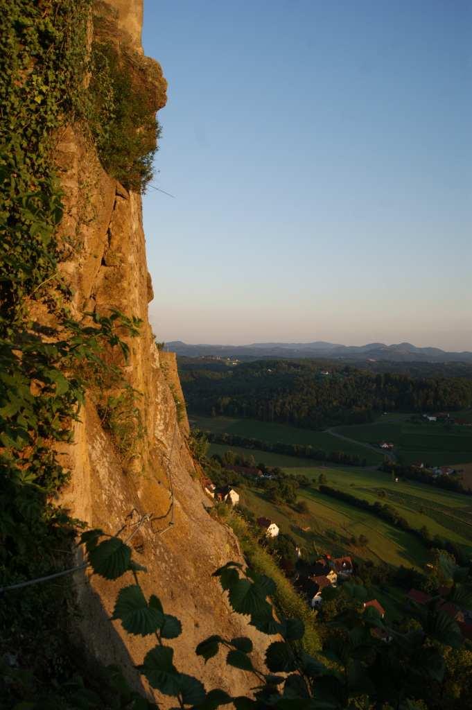 Riegersburg Burgmauer
